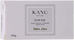 "Profumi e cosmetici Saponetta ""Oliva amara"" per mani e corpo - Kanu Nature Soap Bar Bitter Olive"