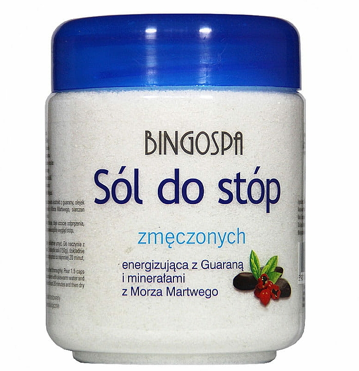 Sale per piedi, anti-stanchezza - BingoSpa Salt for Tired Feet