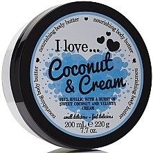 """Profumi e cosmetici Burro corpo nutriente """"Cocco e crema"""" - I Love... Coconut & Cream Nourishing Body Butter"""