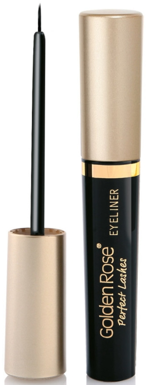 Eyeliner - Golden Rose Perfect Lashes Black EyeLiner