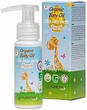 Profumi e cosmetici Olio di pesca con Inca Inchi - Azeta Bio Organic Baby Peach Oil Inca Inchi