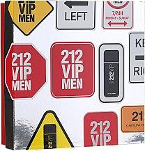 Profumi e cosmetici Carolina Herrera 212 VIP Men - Set (edt/100 ml + sh/gel/100 ml)