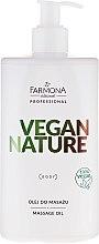 Profumi e cosmetici Olio per massaggio - Farmona Vegan Nature Massage Oil