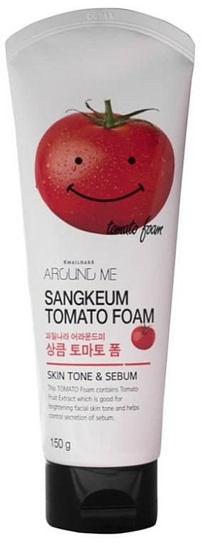 Schiuma detergente con estratto di pomodoro - Welcos Around Me Sangkeum Tomato Foam
