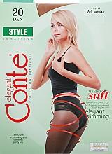 """Profumi e cosmetici Collant """"Style"""" 20 Den, naturale - Conte"""