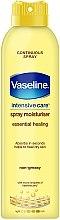 Profumi e cosmetici Spray idratante corpo - Vaseline Intensive Care Essential Healing Spray Moisturiser