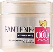 """Profumi e cosmetici Maschera intensiva """"Protezione del colore e brillantezza"""" - Pantene Pro-V Lively Colour"""