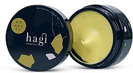Profumi e cosmetici Olio corpo naturale con estratto di ambra e olio di baobab, vasetto - Hagi Momenty
