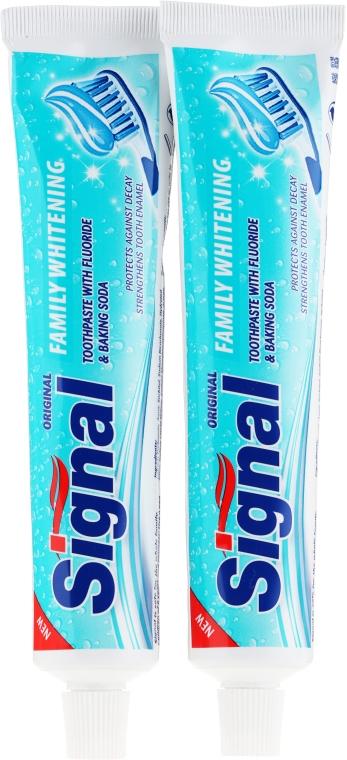 Set - Signal Family Whitening Toothpaste (t/paste/2x100ml)