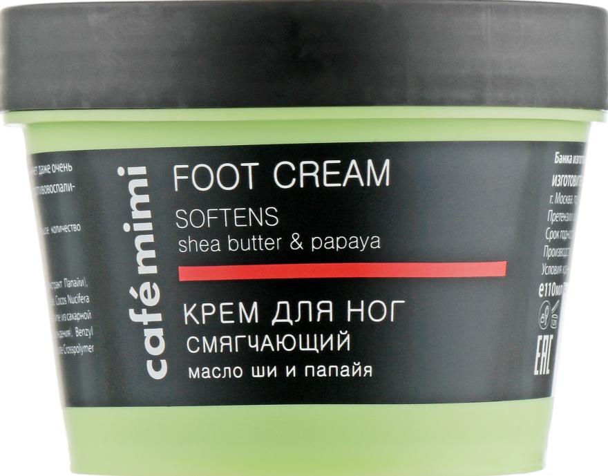 """Crema per i piedi """"Addolcente"""", burro di karité e papaia - Cafe Mimi Foot Cream Softens"""
