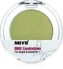 Profumi e cosmetici Ombretto monocromatico - Miyo Omg Eyeshadows
