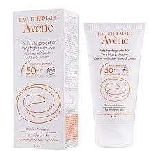 Profumi e cosmetici Crema solare con minerale - Avene Solaires Mineral Cream SPF 50+