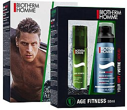 Profumi e cosmetici Set - Biotherm Homme Aquapower (face/lot/50ml + shave/foam/50ml)