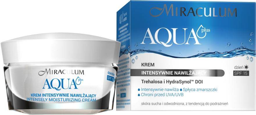 Crema idratante anti-rughe - Miraculum Aqua Plus SPF 15