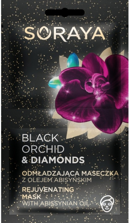 Maschera viso - Soraya Black Orchid & Diamonds Rejuvenating Mask