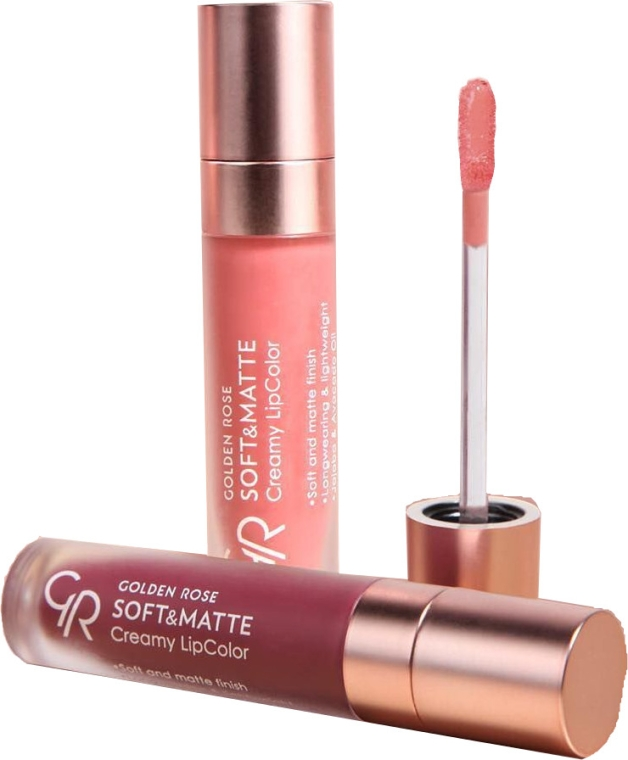 Rossetto liquido - Golden Rose Soft & Matte Creamy Lip Color