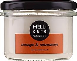 """Profumi e cosmetici Candela profumata """"Arancia e cannella"""" - Melli Care Orange & Cinnamon Soy Wax Scented Candle"""