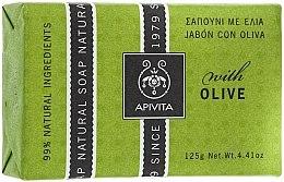 "Profumi e cosmetici Sapone ""Olive"" - Apivita Natural Soap with Olive"