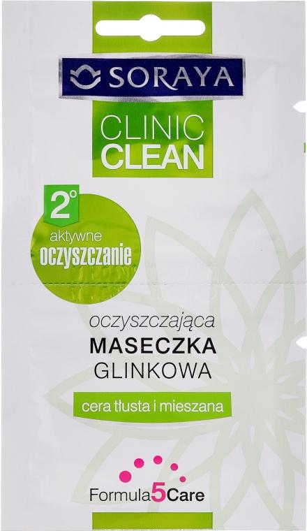 Maschera detergente all'argilla per pelli grasse e miste - Soraya Clinic Clean Mask — foto N1