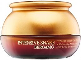 Profumi e cosmetici Crema antietà con estratto di veleno di serpente - Bergamo Intensive Snake Wrinkle Care Cream