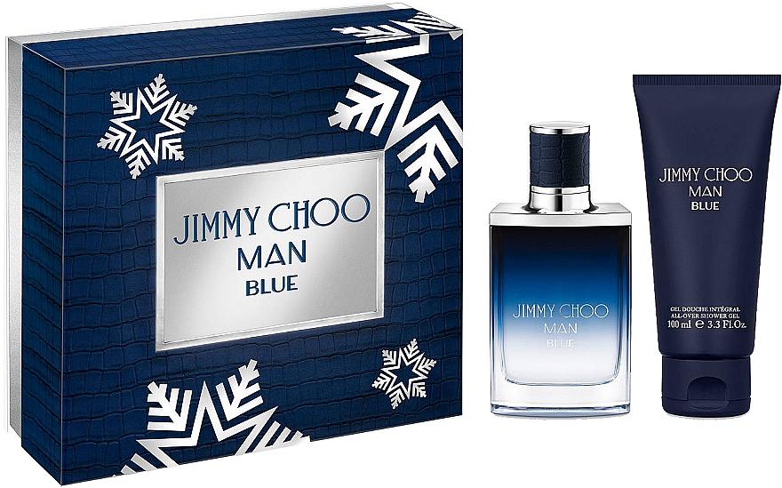 Jimmy Choo Man Blue - Set (edt/50ml + sh/gel100ml) — foto N1