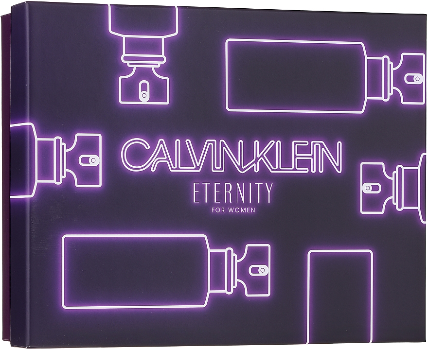 Calvin Klein Eternity For Woman - Set (edp/100ml + edp/10ml + b/l/100ml)