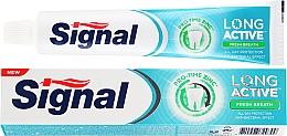 Profumi e cosmetici Dentifricio - Signal Long Active Fresh Breath Toothpaste