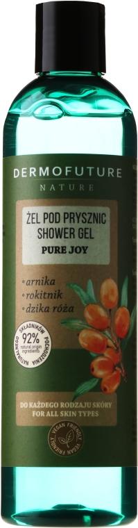 "Gel doccia ""Arnica, ginestra, rosa selvatica"" - Dermofuture Pure Joy Shower Gel — foto N1"