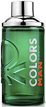 Profumi e cosmetici Benetton Colors Man Green - Woda toaletowa