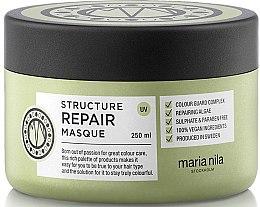 Profumi e cosmetici Maschera per capelli secchi e danneggiati - Maria Nila Structure Repair Masque