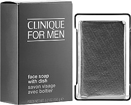 Profumi e cosmetici Sapone viso, uomo - Clinique For Men Face Soap With Dish