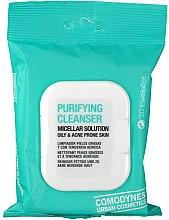 Profumi e cosmetici Salviette detergenti micellari per pelli grasse e acneiche - Comodynes Purifying Cleanser Oily & Acne Prone Skin