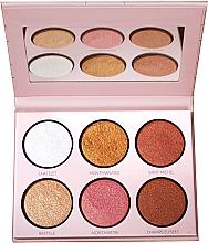 Profumi e cosmetici Palette illuminante - LP Makeup L'Essentiel Paper Highlight Palette