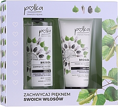 Profumi e cosmetici Set - Polka Birch Tree (shmp/400ml + h/mask/200ml)