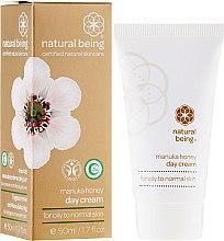 Profumi e cosmetici Crema viso, per pelli normali e grasse - Natural Being Manuka Honey Day Cream