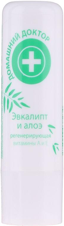 Balsamo labbra eucalipto e aloe - Domashnyi Doctor