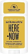 Profumi e cosmetici Antitraspirante naturale - Schmidt's Here +Now Natural Deodorant