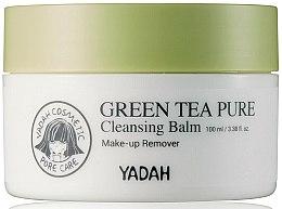Profumi e cosmetici Balsamo viso detergente al tè verde - Yadah Green Tea Pure Cleansing Balm