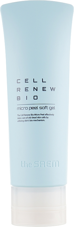 Peeling delicato per purificare la pelle dalle cellule morte - The Saem Cell Renew Bio Micro Peel Soft Gel — foto N2