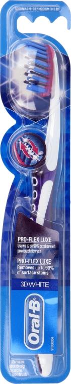Spazzolino da denti, viola - Oral-B Proflex 3D White Luxe 38 Medium — foto N1