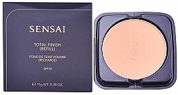Profumi e cosmetici Cipria - Sensai Total Finish Powder Foundation Refill (ricarica)