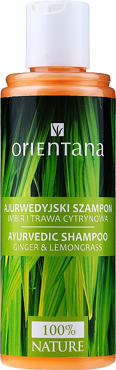 Shampoo capelli - Orientana Ayurvedic Shampoo Ginger & Lemongrass