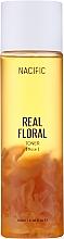 Profumi e cosmetici Tonico viso con petali di rosa - Nacific Real Floral Rose Toner