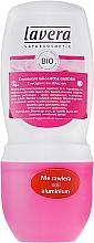 """Profumi e cosmetici Deodorante ipoallergenico roll-on """"Rosa"""" - Lavera 24h Deo Roll-On"""