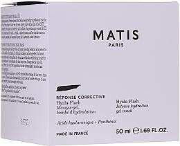 Profumi e cosmetici Maschera-gel viso intensamente idratante - Matis Reponse Corrective Hyalu-Flash Intense Hydration Gel Mask