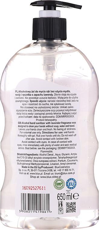Igienizzante mani al profumo di lavanda - Bluxcosmetics Naturaphy Alcohol Hand Sanitizer With Lavender Fragrance — foto N2
