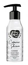 """Profumi e cosmetici Latte corpo """"Cocco"""" - MonoLove Bio Shimmer Body Milk Coconut Cosmic Shine"""