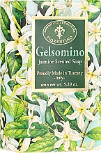 """Profumi e cosmetici Sapone naturale """"Gelsomino"""" - Saponificio Artigianale Fiorentino Masaccio Jasmine Soap"""