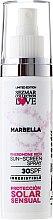 """Profumi e cosmetici Crema solare """"Marbella"""" SPF30 - Sezmar Collection Marbella"""
