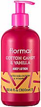"""Profumi e cosmetici Lozione corpo """"Gourmet"""" - Flormar Cotton Candy & Vanilla Body Lotion"""
